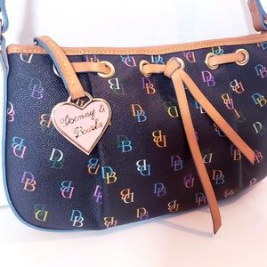 Dooney & Bourke Signature Rainbow Bag-NWOT